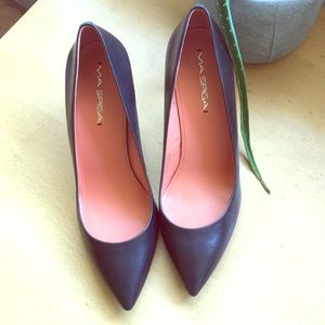Via spiga black heels